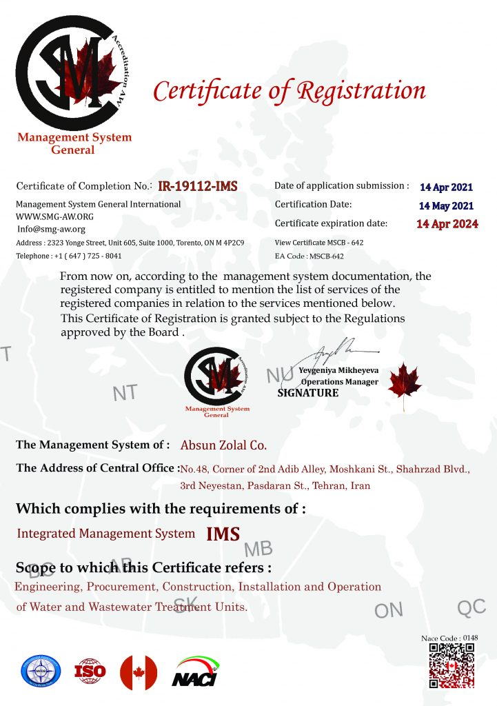 absunzolal certificated